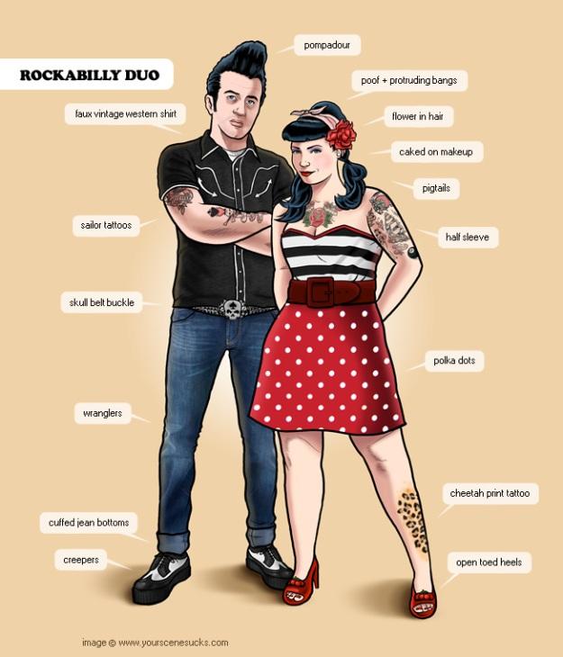 Look rockabilly