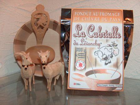 fondue chèvre