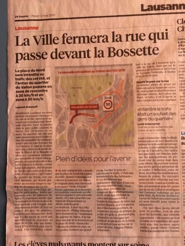 article 24H rue piétonne