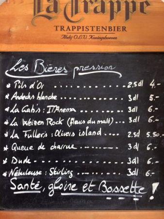 Bières pression